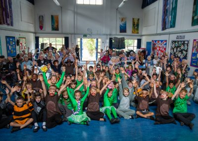 A great time was had by all watching the children's performance of The Jungle Book