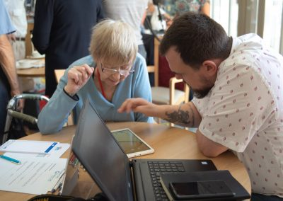 Tea and Tech at Anson Court Care Home