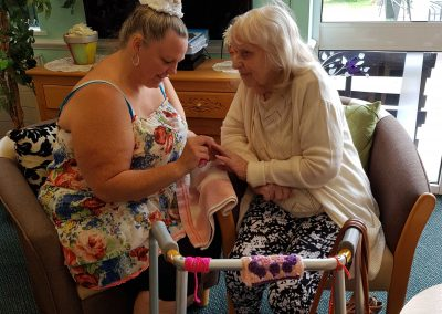 Fourfields Care Home Pamper Day