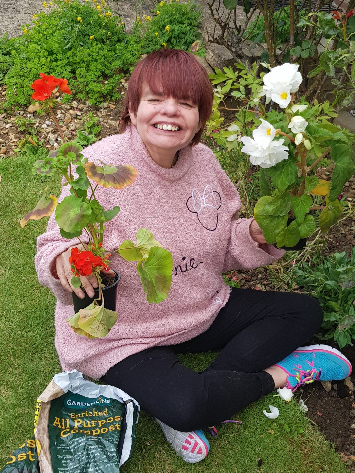 Gardening at Partners In Support